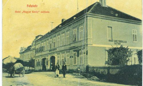 Im Jahr 1908 errichtete Samu Unger ein ungarisch-königliches Hotel mit Gasthof auf dem heutigen Atrium-Areal.