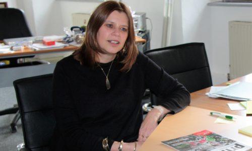 Mag. Gudrun Kramer ist Direktorin des Studienzentrums in der Friedensburg Stadtschlaining Foto © Walter Reiss