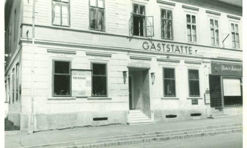 Von 1948 bis 1968 führte die Familie Pagany das Gasthaus.