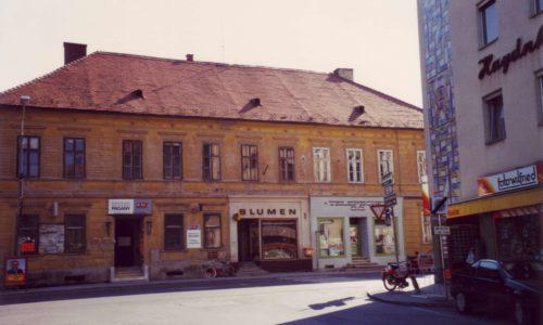 Das Gebäude Ende der 1960-er Jahre.