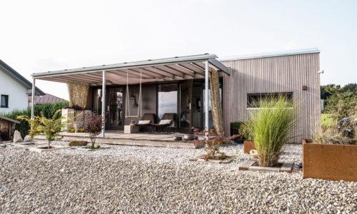 Mikrohäuser werden immer beliebter. Auf 30-50 m2 Wohnfläche wird der Traum vom eigenen Haus wahr. (Fotos © Klaus Doppler)