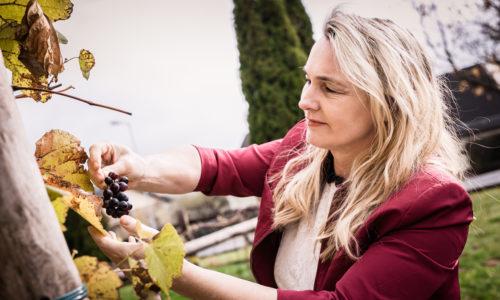 Margret Hofstätter ist Vollblutgastronomin. Mit ihrem Lebensgefährten führt sie den Buschenschank