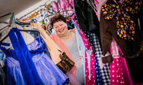 Hermine Kogler hat rund 2.000 Kostüme und Masken in ihrem Fundus in Eggendorf bei Hartberg Fotos: Foto © View / Jennifer Vass