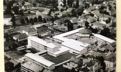 Ansicht auf Oberwart Anfang der 1960-er Jahre. Foto © zVg