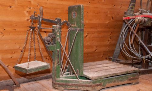 Die alten Gerätschaften erinnern an die Historie der Mühle, die bis ins Jahr 1757 zurückreicht.
