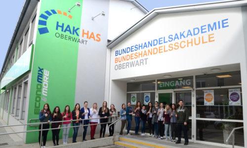 260 Schüler besuchen derzeit die HAK/HAS Obewart. Ab Herbst 2018 gibt es das 1. Bgld. Business Kolleg. Foto © HAK/HAS