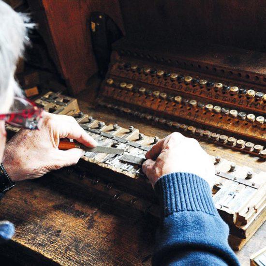 Harmonikabauer aus Berufung – Gustav Auer