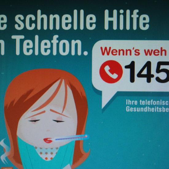 """""""1450"""": Telefonische Gesundheitsberatung ab 1. Mai im auch im Burgenland"""