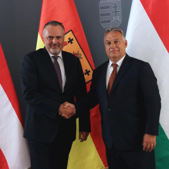 Doskozil bei Orbán