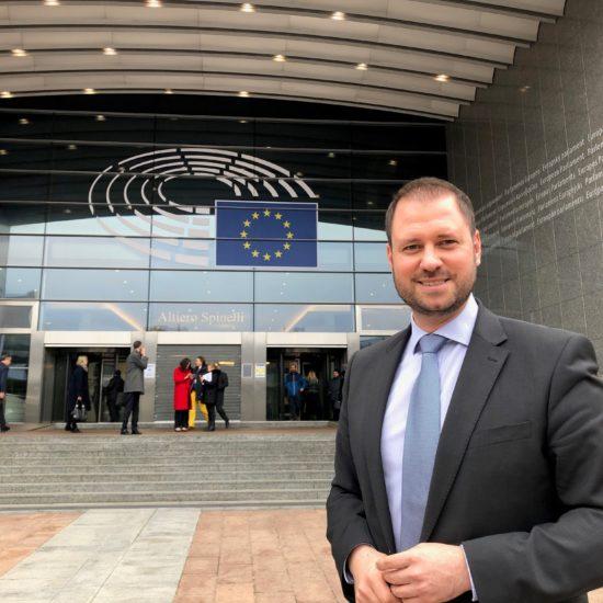 Vom Klubobmann in Eisenstadt zum Europa-Abgeordneten