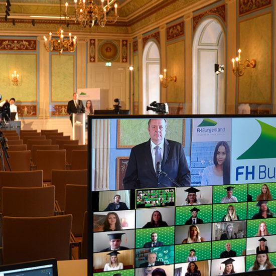 FH Burgenland: Sponsion erstmals online