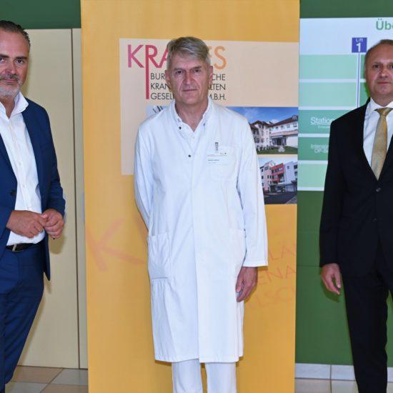 Neue Station im Krankenhaus Güssing