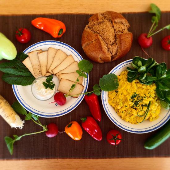 Gesunder Genuss – Vegane Osterjause
