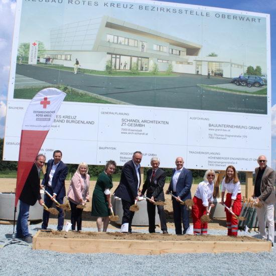 Start für die neue Rotkreuz-Bezirksstelle in Oberwart